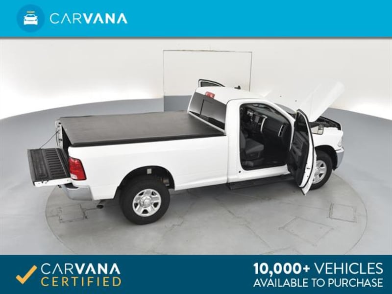 2015 Ram 3500 Regular Cab pickup SLT Pickup 2D 8 ft White  20