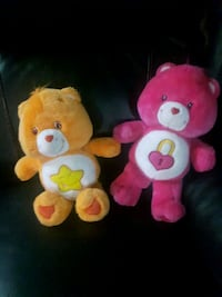 two pink and yellow bear plush toys Edmonton, T5A 2A9