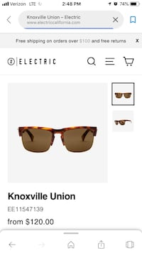 Electric brand sunglasses Knoxville union polarized Ellicott City