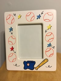 Hand Decorated Picture Frame Shirley, 11967