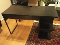 "Black desk 47"" x. 19.5"" (29.5"" high) Alexandria, 22302"
