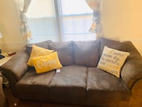 Brown Two Piece Micro Fiber Couch  Gaithersburg, 20878