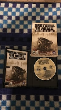 Brothers in arms earned in blood pc complete 3 disk set Atlanta, 30340