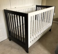 Sorelle Commuter Convertable 2-in-1 Crib w/ Colgate Mattress (very firm) North Potomac, 20878
