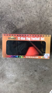 New - 12 man flag football set Chantilly, 20151
