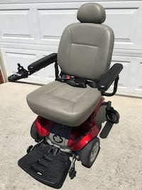 black and red motorized wheelchair San Jose, 95131