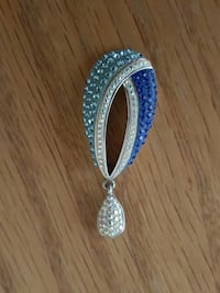 women's silver and blue studded accessory Lake Elsinore, 92532