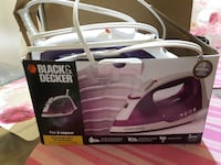 Black & Decker clothes iron box