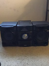 black and gray subwoofer speaker Montgomery Village, 20886