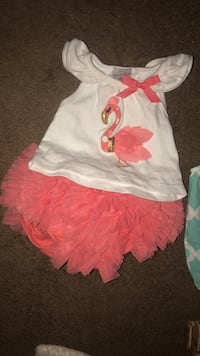 Mud pie 6-9m outfit