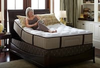 New Queen Stearns and Foster Mattress Sets $39 Down