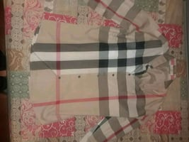 Burberry button up mens