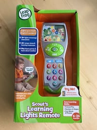 Brand new Leap Frog Learning Lights Remote Toronto, M2N 4P9