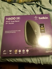 Belkin n600 router Cambridge, N3C 3Z5