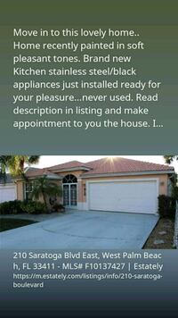 Open House March 17th, 11am HOUSE For Sale 3BR 2BA Royal Palm Beach