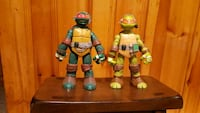 Two Ninja Turtle Figures Westwood, 07675