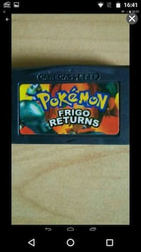 Pokémon Frigo Returns Nintendo Gameboy Advance Werther, 33824