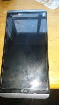 black LG android smartphone
