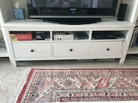 White ikea tv console 42 km