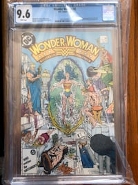 Wonder Woman #7 cgc graded 9.6 Toronto, M6H 2V8