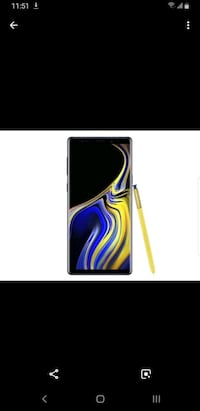 Trade only New note 9 unlocked  Edmonton, T6J 4E2