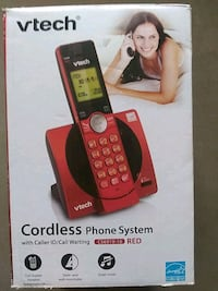 Red Cordless phone system Virginia Beach, 23462