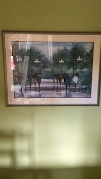brown wooden framed painting of people Miami, 33196