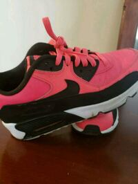 Pink and Black Nike Air Max Damascus