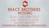 Brace Brothers Moving La Quinta, 92253