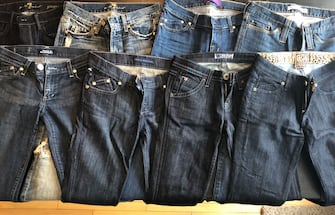 8 Pairs of Designer Jeans for $100 Total OBO