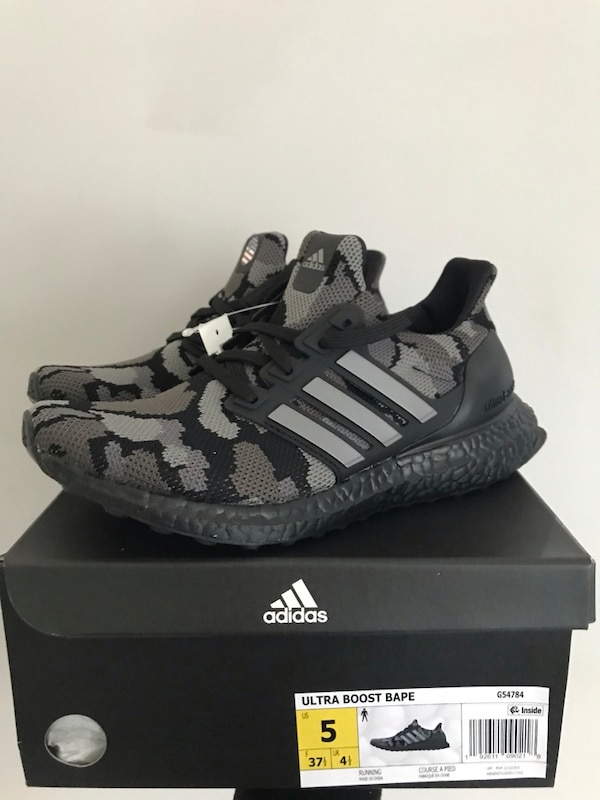 25ab73c42 Used Adidas Bape Ultra Boost Size 5 for sale in Chicago - letgo