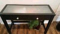 Vintage frosted glass top desk w/chair Grove City, 43123