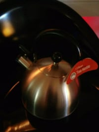 Kettle stainless stove top