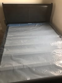Queen Bed frame with box