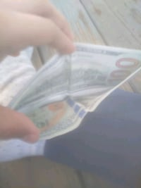 100 dolor Bill wallet
