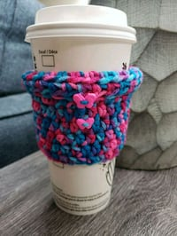 Turtleneck Coffee Cozy, Handmade Edmonton, T6H 0B2