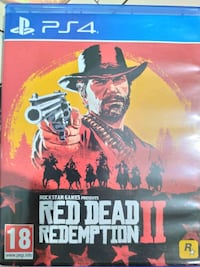 Red dead redemption rdr2 Ps4