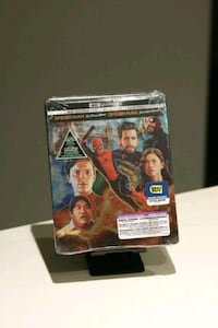 Spider-Man 4K STEELBOOK (Far From Home) Vancouver, V5R 0E3