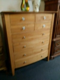 Large solid wood tall dresser Houston, 77077