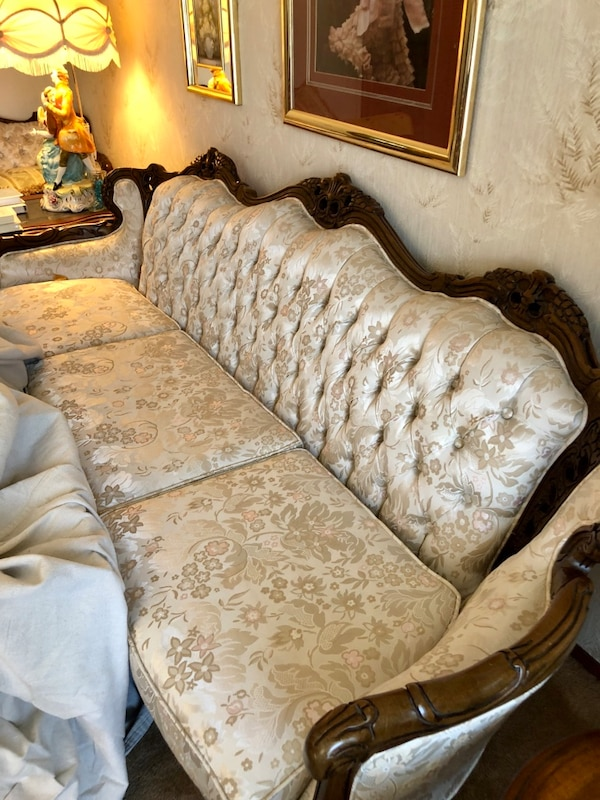 Sold Kingsley French Provincial Sofa