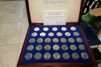 JFK half dollar collection