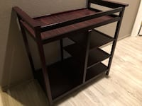 Changing table with shelves underneath Las Vegas, 89141