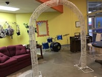 Wedding holiday graduation shower party lighted archway arch Walkersville, 21793