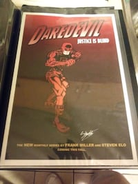 Selling my signed DAREDEVIL T.V SERIES POSTERS 509 km