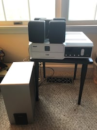 RCA DVD/CD Receiver & Surround Sound (5 Speakers, Subwoofer & Cables) Model # RTD207 Baltimore, 21236