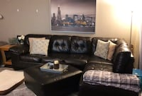9ft long couch with Chase and ottoman Des Plaines, 60016