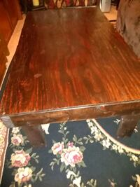 All wood coffee table..  Fayetteville
