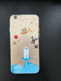 Astronaut in space iPhone 6/6s case