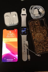 iPhone X and 38mm Series 2 Apple Watch. Spruce Grove, T7X 4S5