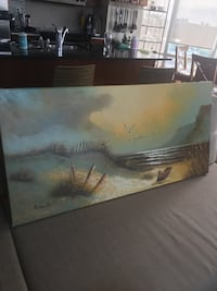 Landscape art on canvas Toronto, M6S